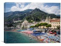 Amalfi, Canvas Print