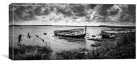 Essex Wrecks, Canvas Print