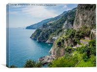 Amalfi Coast, Canvas Print