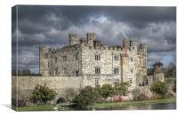 leeds castle hdr, Canvas Print