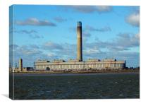 power station, Canvas Print