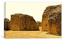 Rome Ruins, Canvas Print