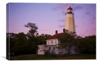 Sandy Hook Lighthouse -2, Canvas Print
