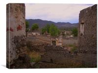 Heart of the Ghost Town, Canvas Print