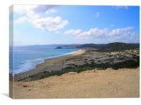 Karpass Peninsula, Northern Cyprus, Canvas Print