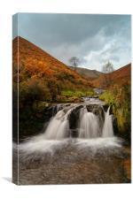 Peak District,Fair Brook Waterfalls, Canvas Print