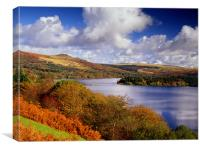 Burrator Reservoir, Canvas Print