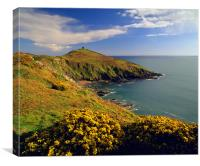 Rame Head & Whitsand Bay, Canvas Print