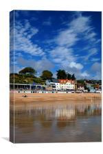Lyme Regis Seafront, Canvas Print