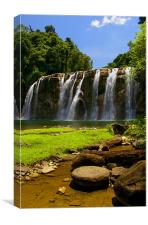 Tinuy-an Falls,Mindanao,Philippines, Canvas Print
