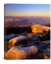 Millstone Edge & Hope Valley, Canvas Print