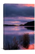 Damflask Sunrise, Canvas Print