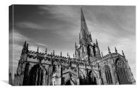 All Saints Church, Rotherham, Canvas Print