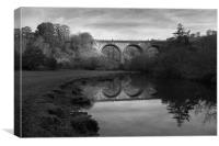 Headstone Viaduct, Monsal Dale, Canvas Print