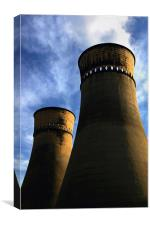Tinsley Cooling Towers, Canvas Print
