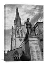 All Saints Church, Laughton-en-le-Morthen, Canvas Print