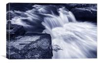 River Rivelin, Canvas Print