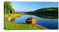 Damflask Reservoir, Canvas Print