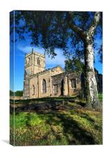St Andrews Church, Bolton upon Dearne, Canvas Print