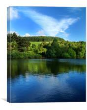 Dale Dyke Reservoir,South Yorkshire,Peak District, Canvas Print