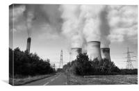 Drax Power Station, Canvas Print
