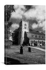 St Margarets Church, Swinton, South Yorkshire, Canvas Print