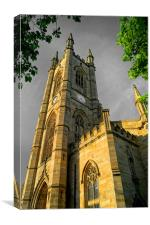 St Marys Church, Bramall Lane,Sheffield, Canvas Print