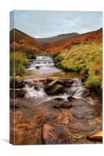 Fair Brook Waterfalls, Canvas Print