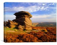 Mother Cap, Peak District, Canvas Print