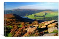 View Across Ladybower Reservoir, Canvas Print