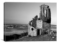 Mount Edgcumbe Folly, Canvas Print