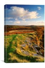 Bole Hill Quarry, Canvas Print