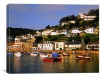 West Looe, Canvas Print