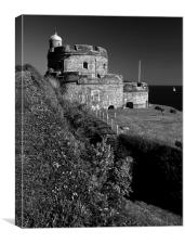 St Mawes Castle, Canvas Print