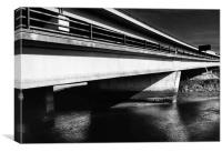 Marsh Mills Flyover, Canvas Print