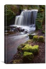 Rivelin Falls in Winter