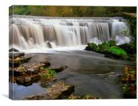 Monsal Weir, Canvas Print