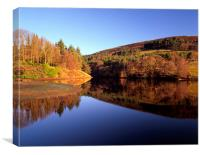 Ladybower Reflections, Canvas Print