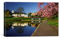 Crookes Valley Park, Canvas Print