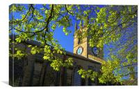 St Thomas Church, Kimberworth,Rotherham, Canvas Print