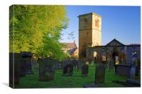 The Old Holy Trinity Church, Wentworth, Canvas Print