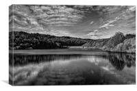 Rivelin Dams, Canvas Print