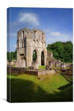 Roche Abbey Ruins 2, Canvas Print