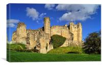 Conisbrough Castle , Canvas Print