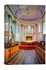 All Saints Church Interior, Gainsborough , Canvas Print