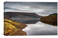 Ladybower Tranquility , Canvas Print