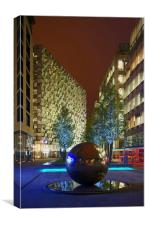 Millennium Square at Night , Canvas Print