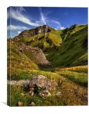 Winnats Pass , Canvas Print