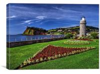 Teignmouth Lighthouse , Canvas Print