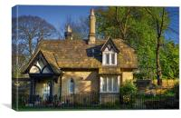 The Norfolk Park Road Lodge, Sheffield , Canvas Print